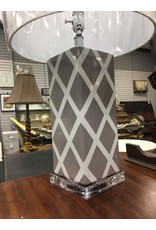 "Benton 27"" Table Lamp - Gray"
