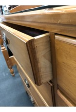 Solid Maple 8 Drawer Double Dresser