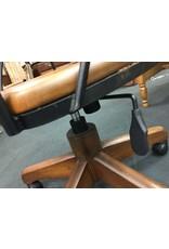 Vintage Desk Chair w Rattan Back