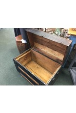Victorian Style Banded Dome Top Trunk