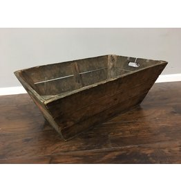Rustic Imported French Champagne Crate