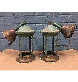 Pair of Vintage Decorative Lantern Style Pendants