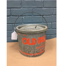 Vintage Old Pal Floating Minnow Bucket