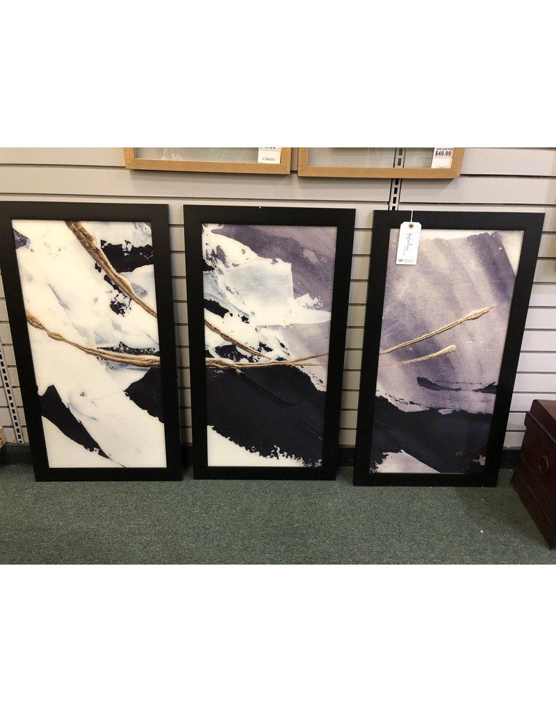 Orren Ellis Gilded Arcs I' Acrylic Painting Print Multi-Piece Image