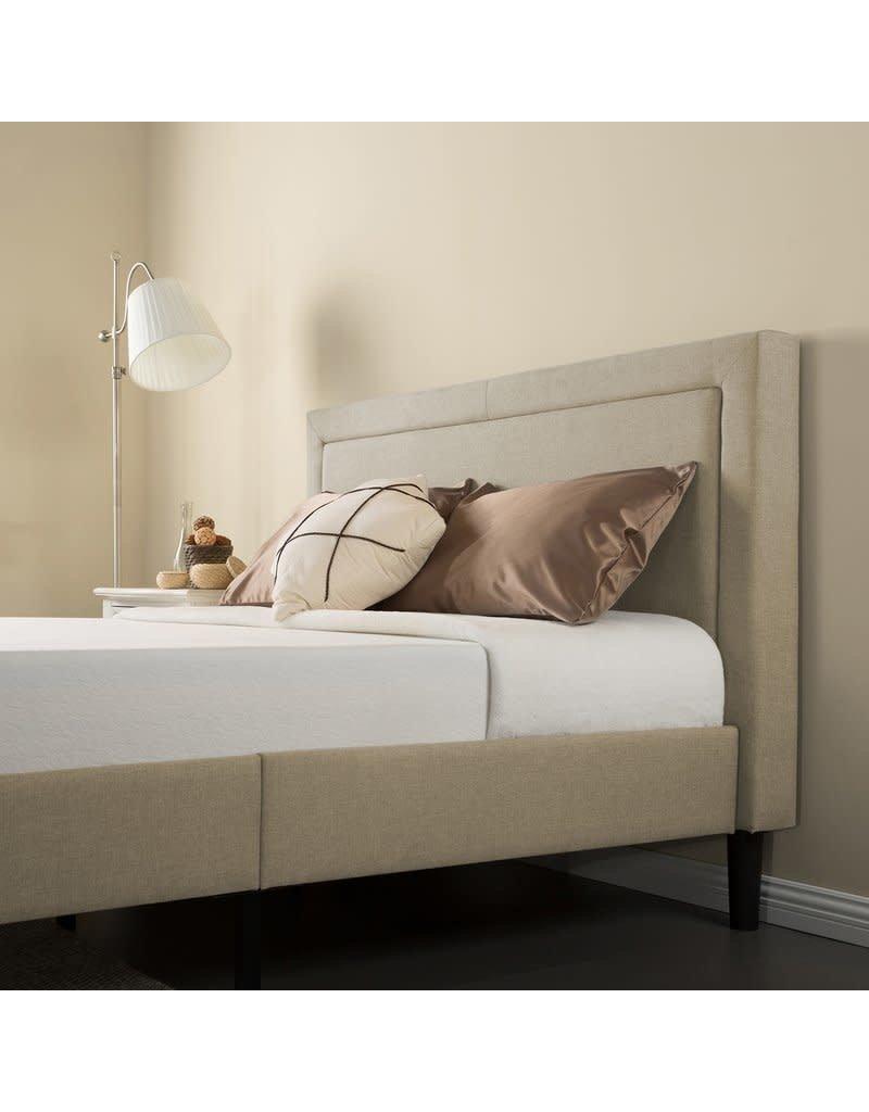 Winston Porter Mariel Upholstered Platform Bed - King