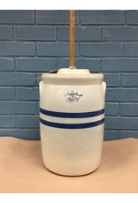 RRP 3 Gal Butter Churn Double Blue Band