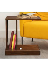 Andover Mills Augie C-Table with Concealed Drawer