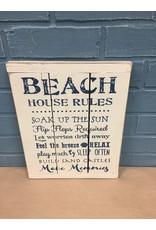 Beach House Rules