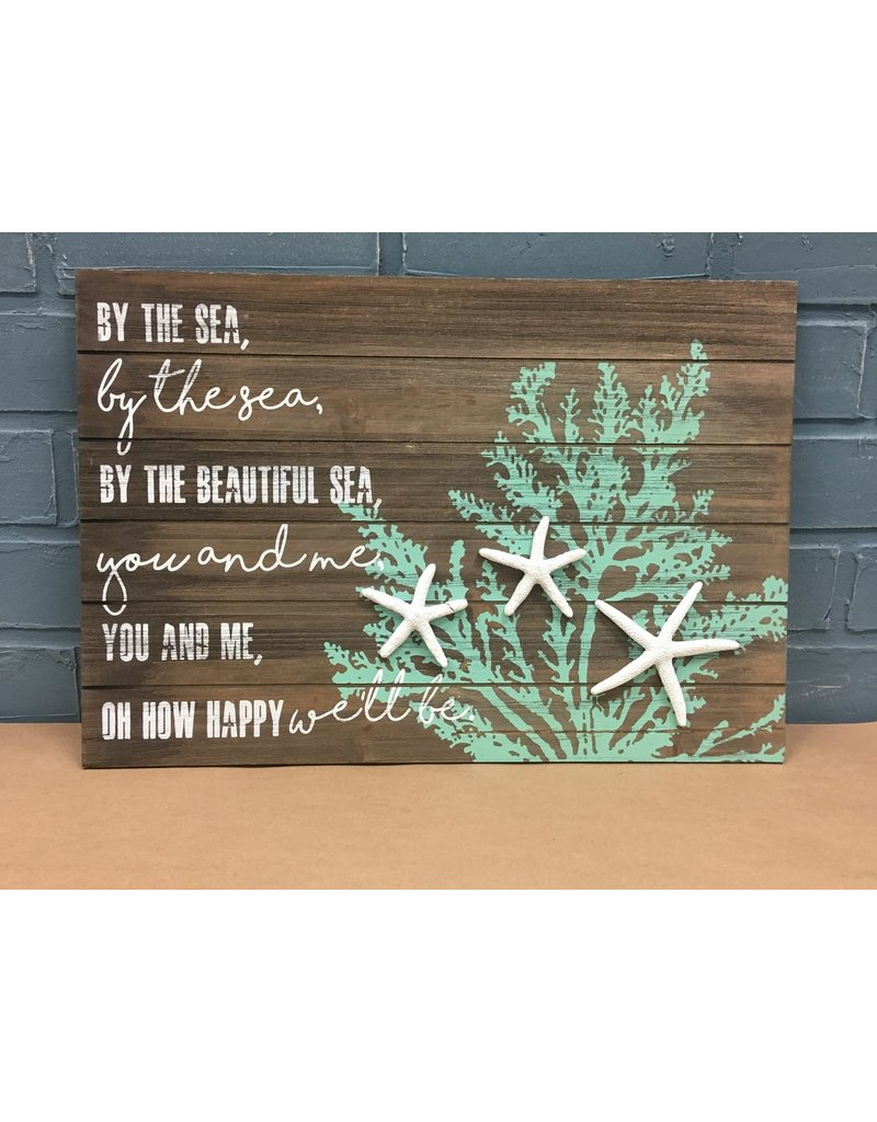 By the Sea Starfish Sign