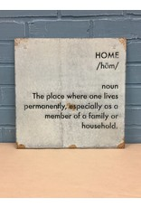 Home Definition Wall Art