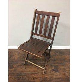 Vintage Wooden Folding Chair