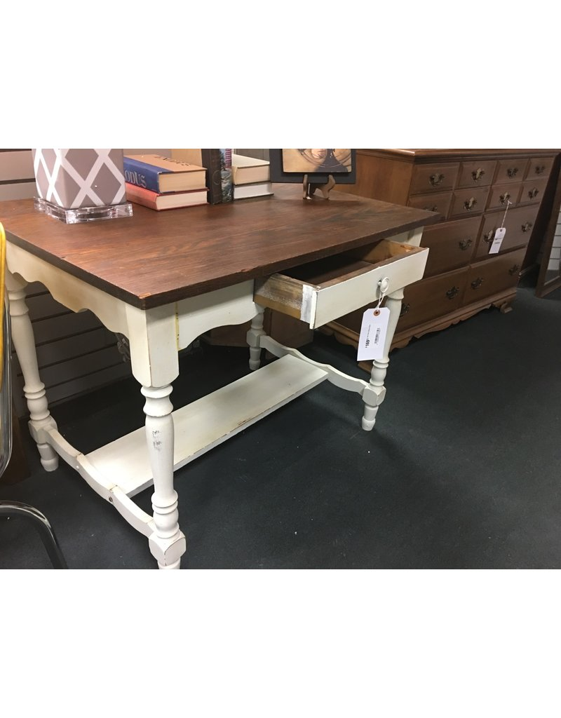 Two Tone Library Table