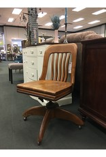 Wooden Bankers Chair