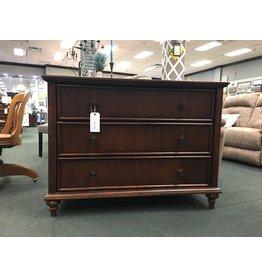 Dark Wood Contemporary 3 Drawer Dresser
