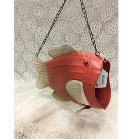 Medium Metal Fish Planter