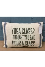 Yoga Class Pillow