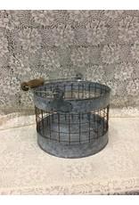 Washed Galvanized Screen Bucket