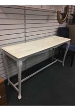Two Tone Painted Sofa Table