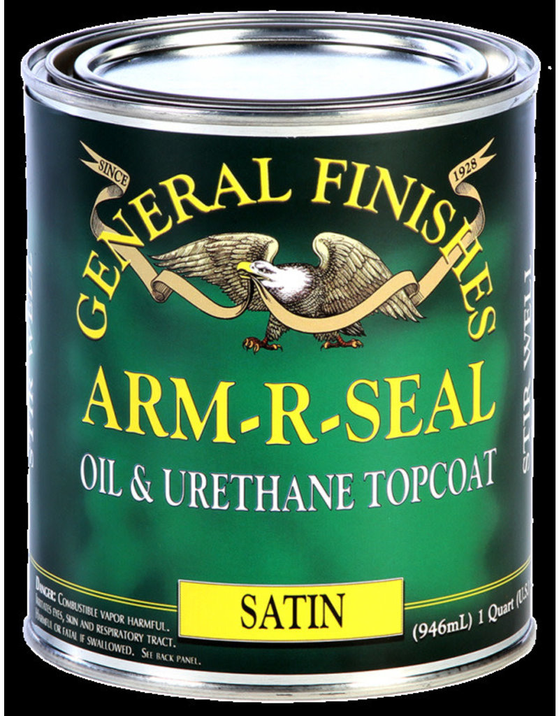 General Finishes PT Arm-R-Seal Topcoat Satin