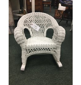 Child Size Wicker Rocking Chair