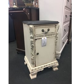 French Style Two Tone Nightstand