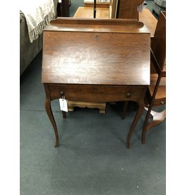 Quartersawn Oak Ladies Drop Front Desk