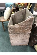 Primitive Firewood Crate