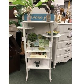 Seagull Gray Painted Display Shelf