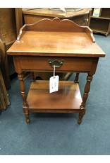 Cherry 1 Drawer Night Stand w/ Gallery