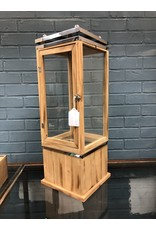 Wood and Metal Lantern