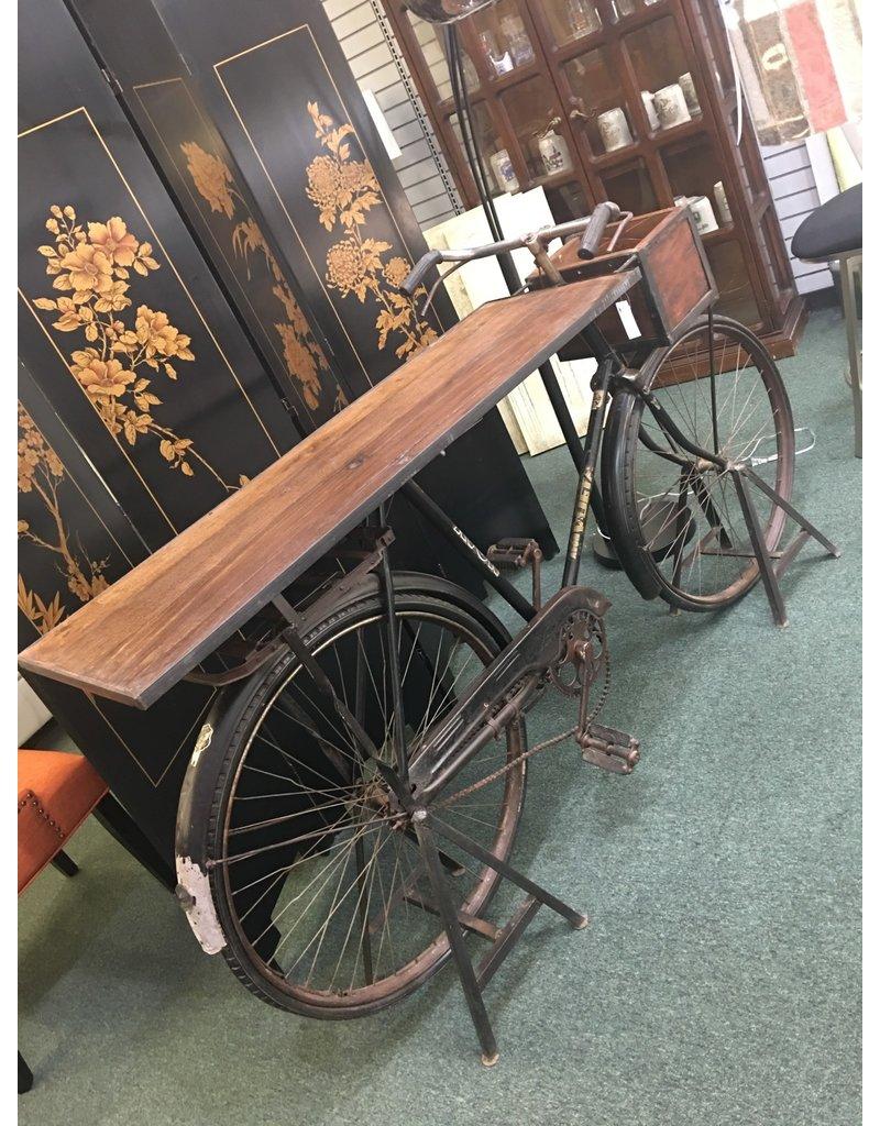 Vintage Bicycle Bar Table
