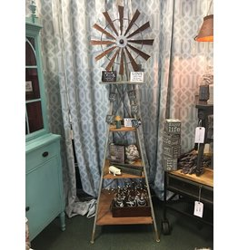 CWI Gifts 6' Windmill 3 Level Shelf