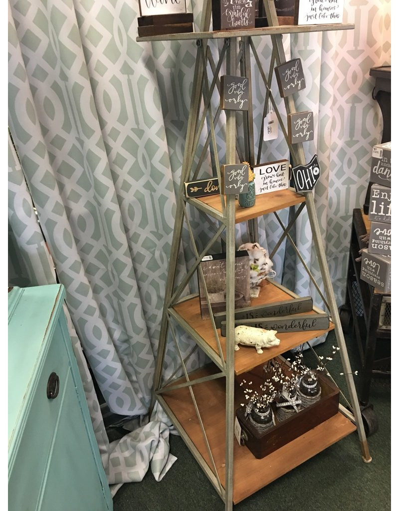 CWI Gifts 6' Windmill 3 Level Shelf