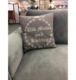 Decorative Felt Throw Pillow - G