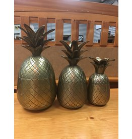 Brass Pineapple - Medium