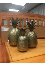 Brass Pineapple - Large