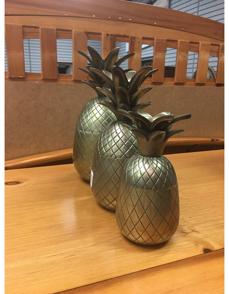 Brass Pineapple - Large