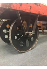 Metal Coat Rack Cart