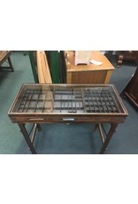 Printer Tray Glass Top Table