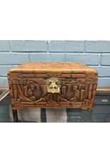 Asian Themed Wooden Keepsake Box