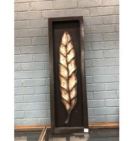 Metal Leaf Wall Hanging