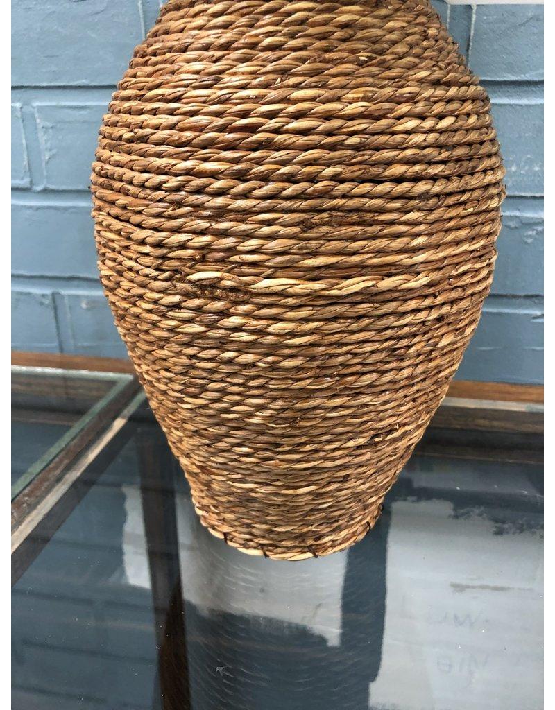 Rope Vase w/ Plant