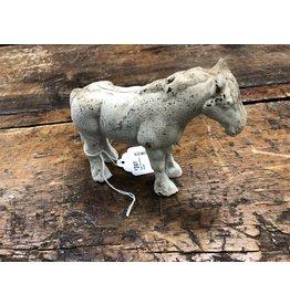Cast Iron White Horse