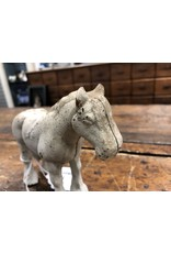 Cast Iron White Horse