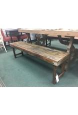 Rustic Folding  Bench
