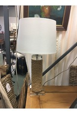 """Beachcrest Home Anguila Rope 27"""" Table Lamp"""