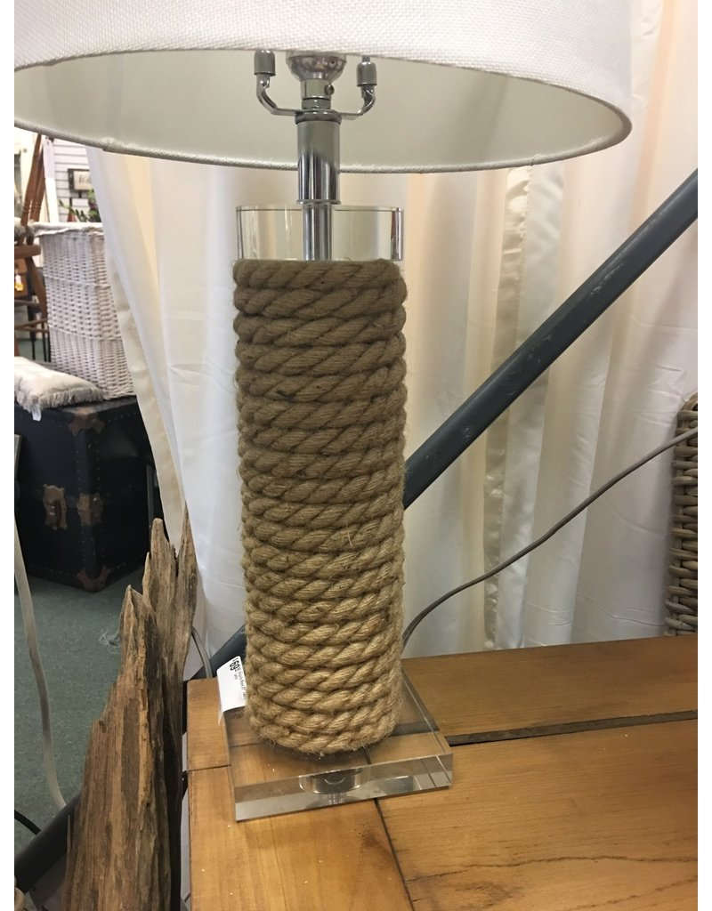 "Beachcrest Home Anguila Rope 27"" Table Lamp"