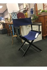 Director Style Black Chair