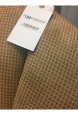 Brown Channel Tufted Upholstered Armchair