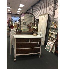Seagull Gray 2 Tone Dresser w/Mirror